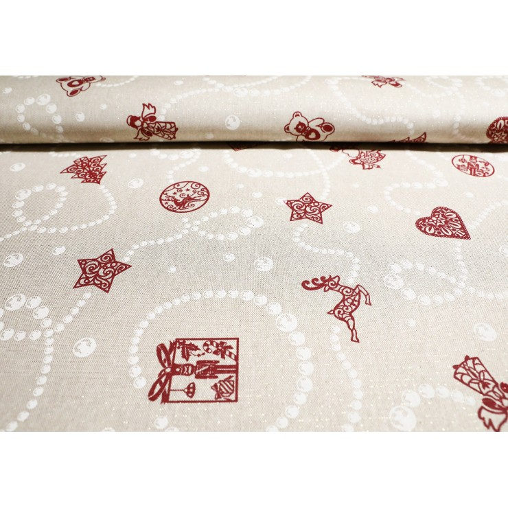 Fabric Christmas Gifts, h. 140 cm