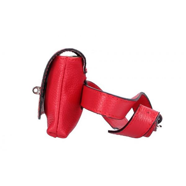 Dámska  ľadvinka 5346 červená Made in Italy