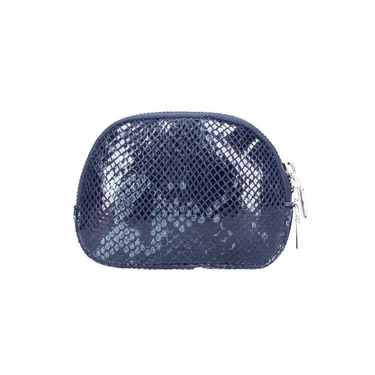 Leather Pouch 5348 dark blue