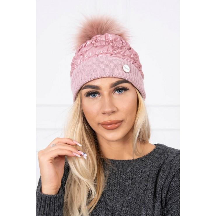Dámska čiapka MIK160 ružová