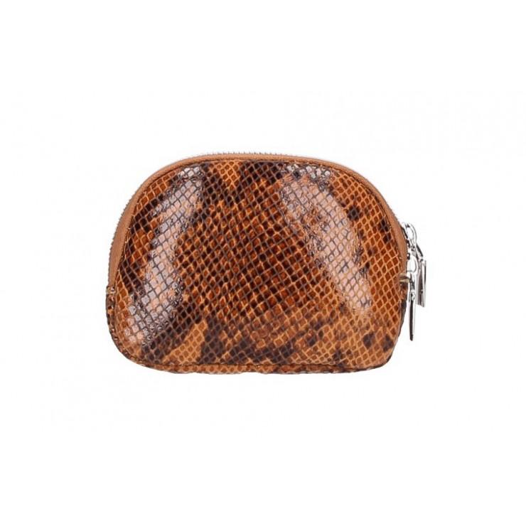Leather Pouch 5348 cognac