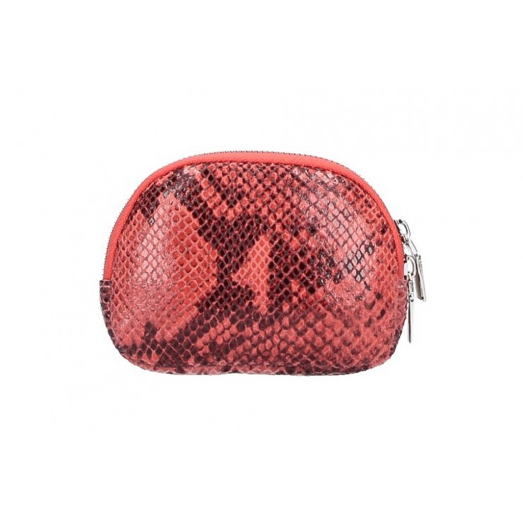Leather Pouch 5348 coral