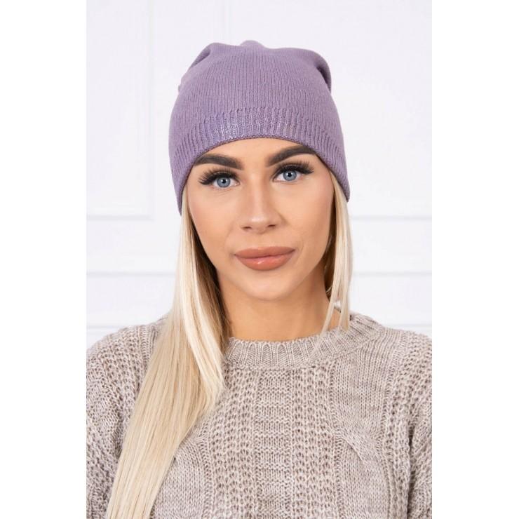 Dámska čiapka MIK143 fialová