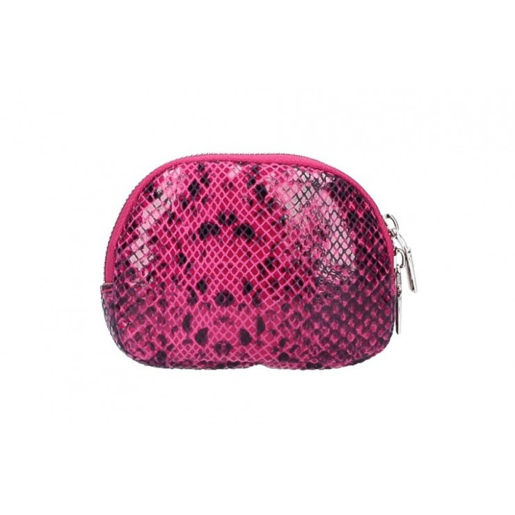 Leather Pouch 5348 fuxia