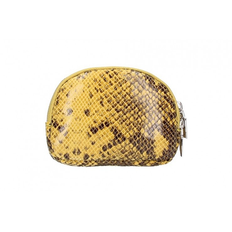 Leather Pouch 5348 yellow