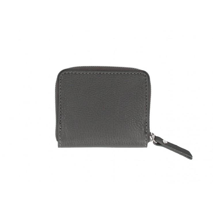 Dámska kožená peňaženka 571 tmavošedá