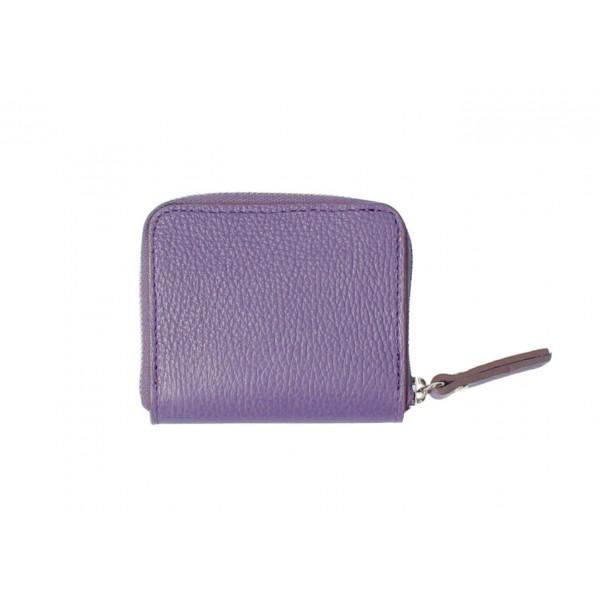 Dámska kožená peňaženka 571 fialová Fialová