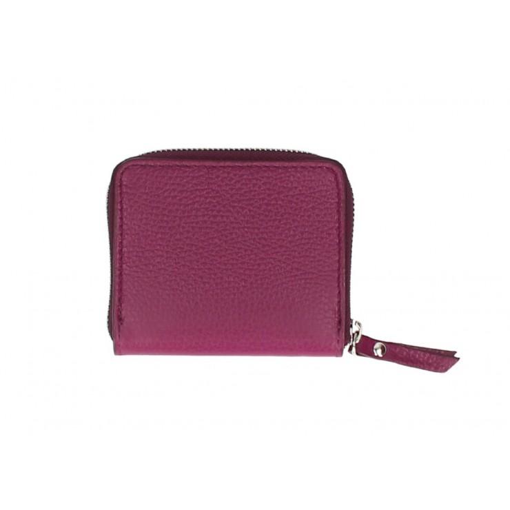 Woman genuine leather wallet 571 wine