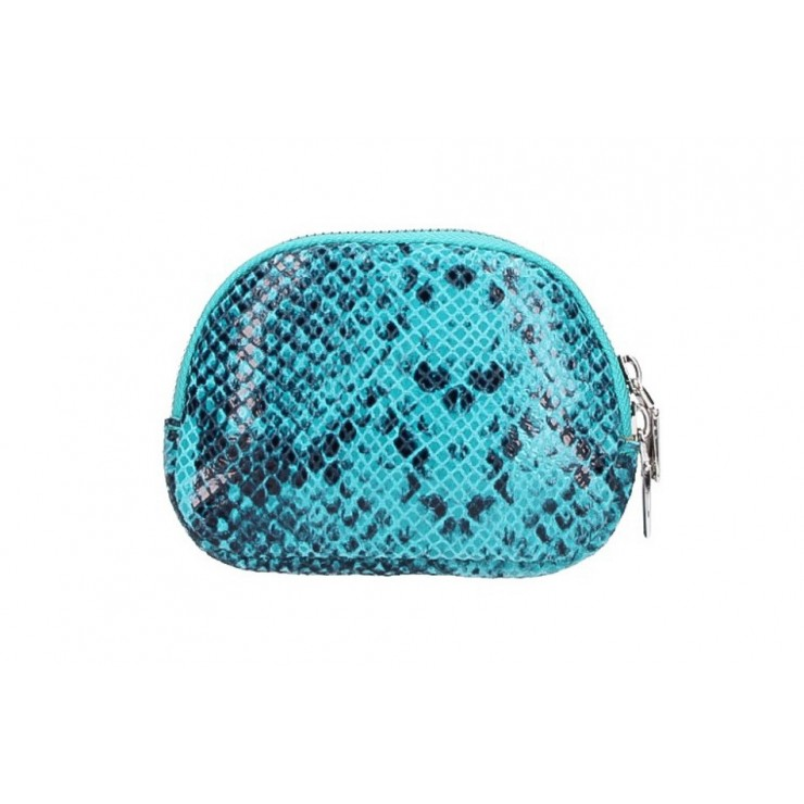 Leather Pouch 5348 turquoise