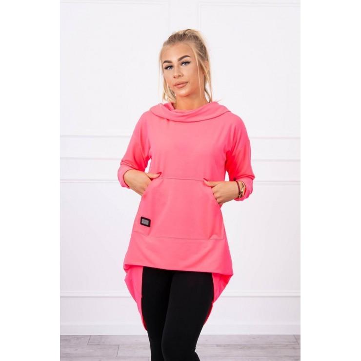 Women's  tunic MI9116 pink neon