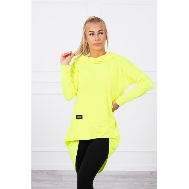 Women's  tunic MI9116 yellow neon
