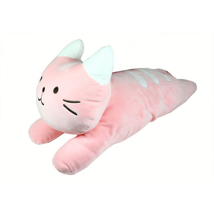 Children's pillow in the shape of a cat 60x25 cm