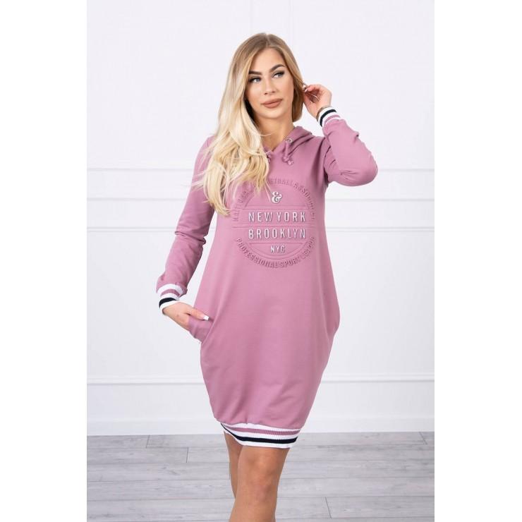 Ladies Dress Brooklyn MI62095 pink