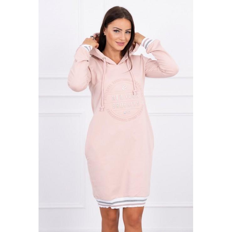 Ladies Dress Brooklyn MI62095 dark powder pink