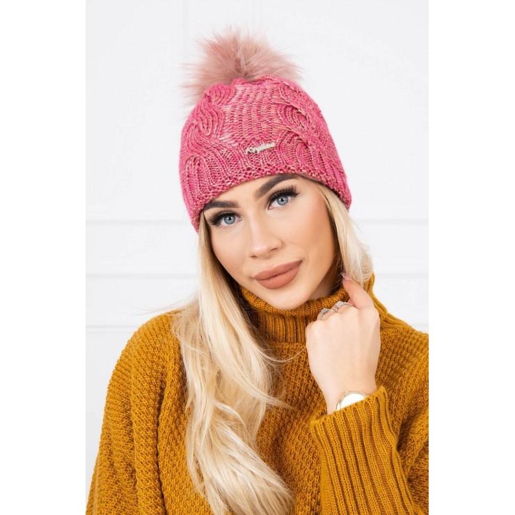Women's Winter Hat MIK181 pink