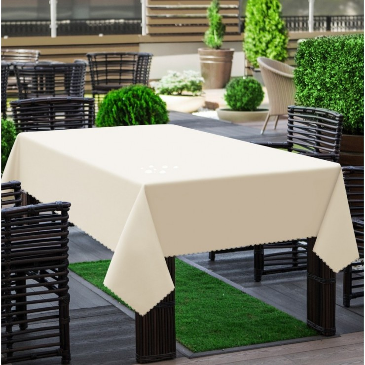 Garden tablecloth 290 cream
