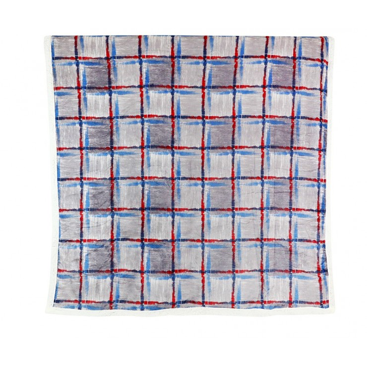 Plaid Fashion 160x210 cm blu-gray