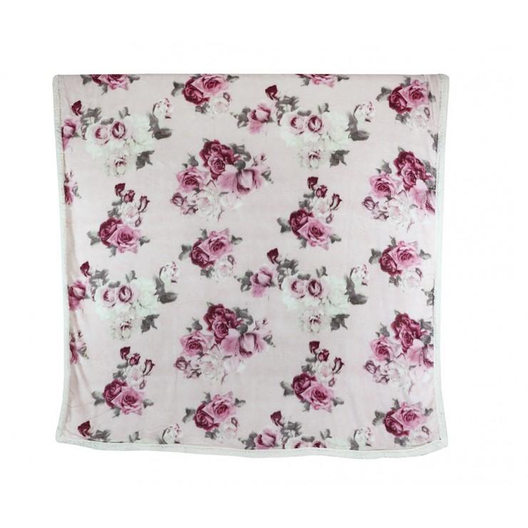 Zateplená deka Lady 160x210 cm ružová