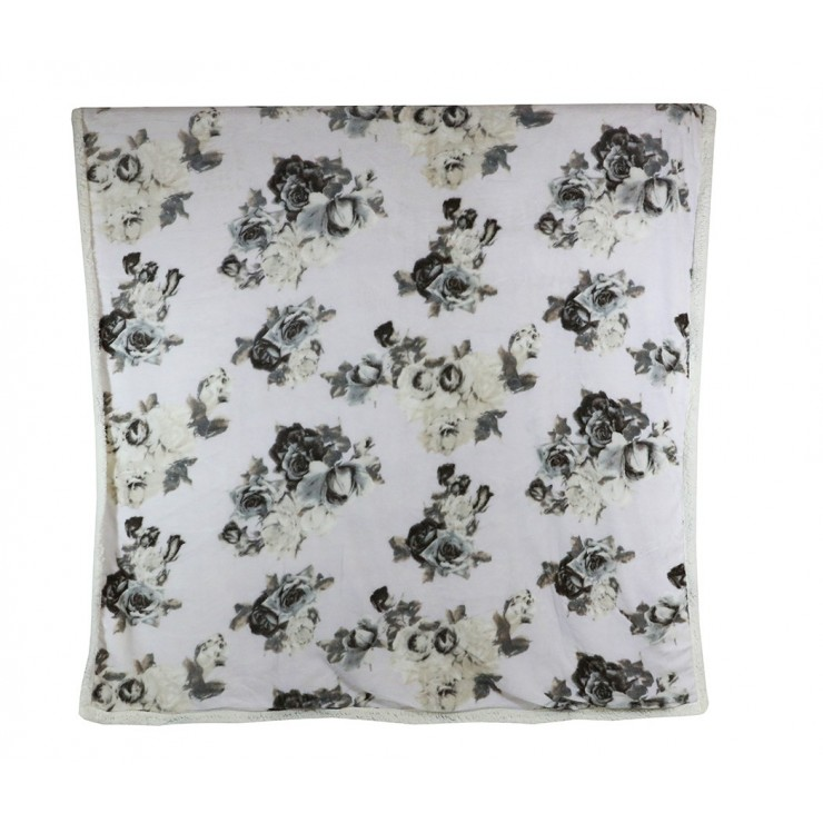 Zateplená deka Lady 160x210 cm béžovo-šedohnedá