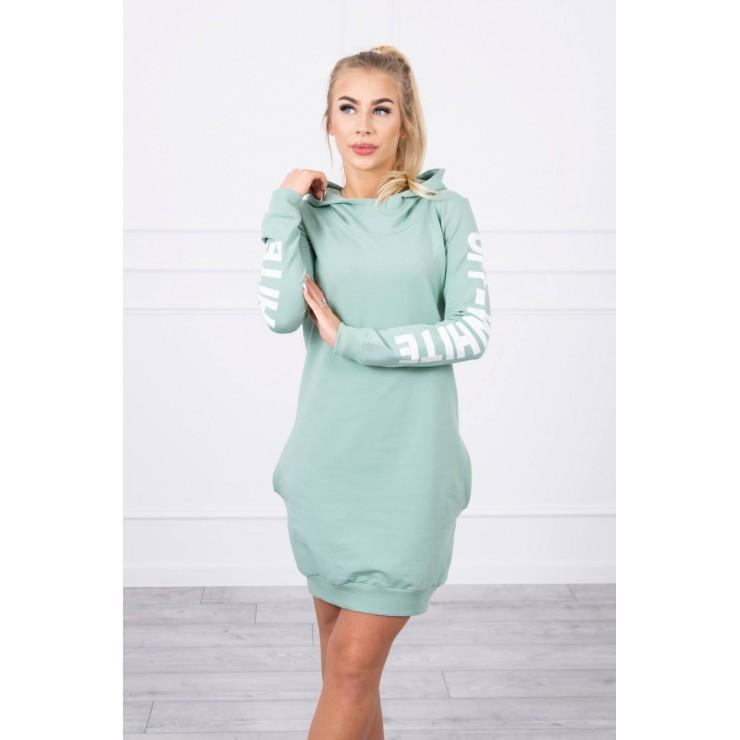 Dress Off White MI62182 dark mint