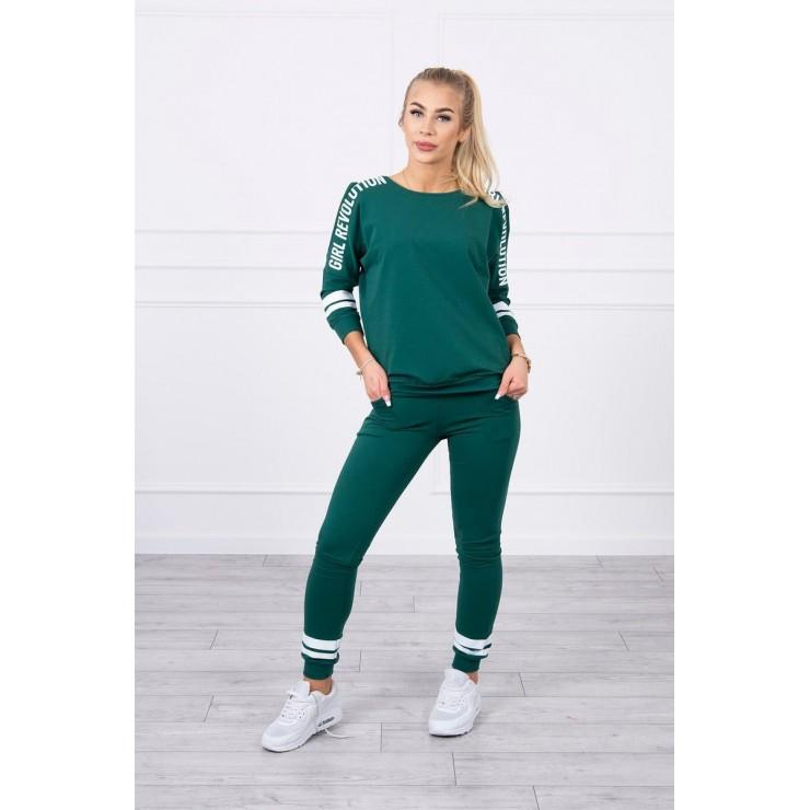 Women's set MI8849 Girl Revolution green