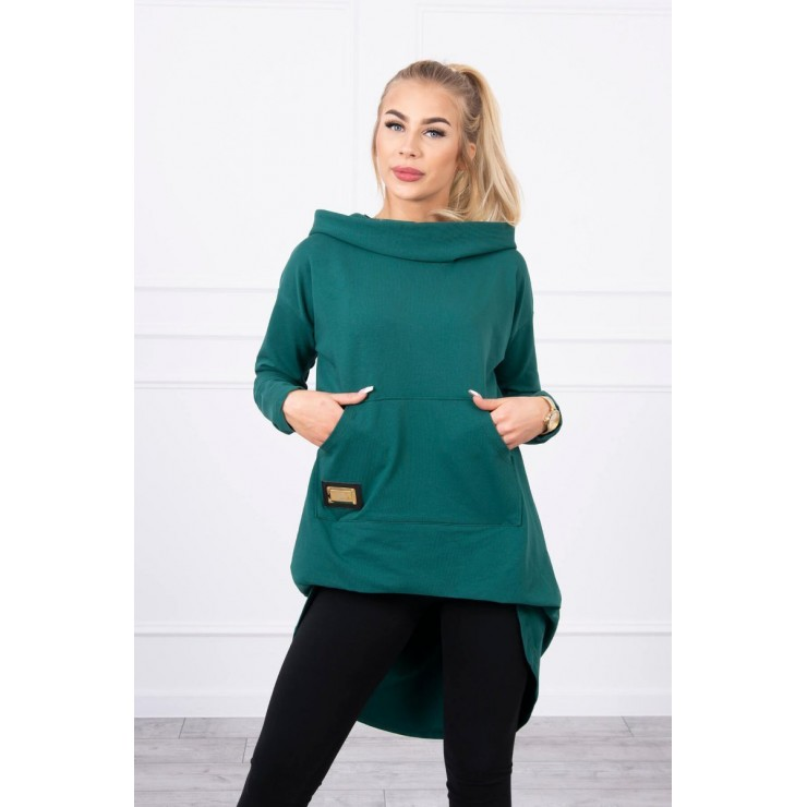 Women's  tunic MI9116 green