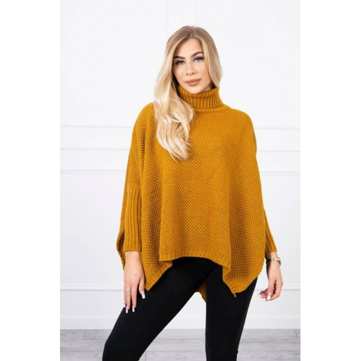 Women's turtleneck 2019-30 mustard