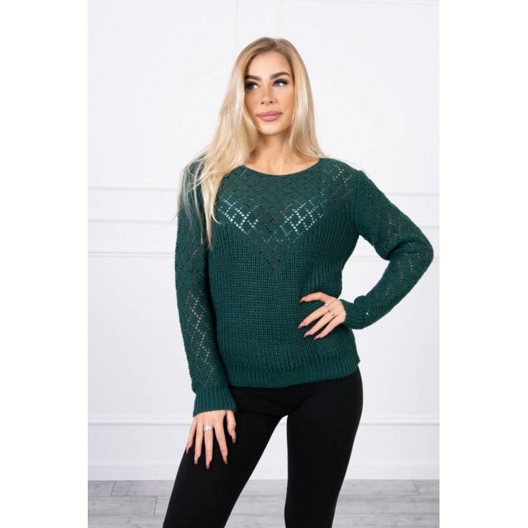 Ladies sweater MI2019-39 green