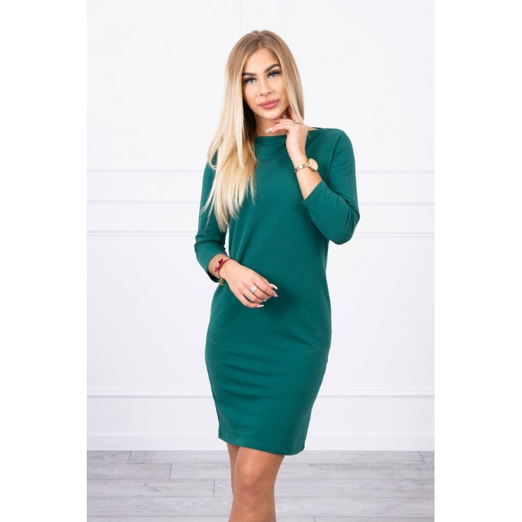 Ladies Dress Classical MI8825 green