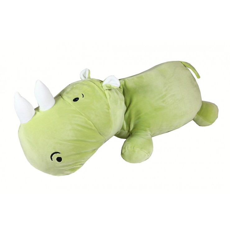 Children's pillow in the shape of a Hippo 60x25 cm
