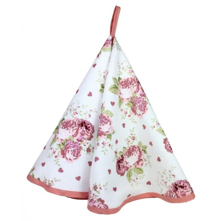 Stylish decorative kitchen towel Roses 50x70 cm