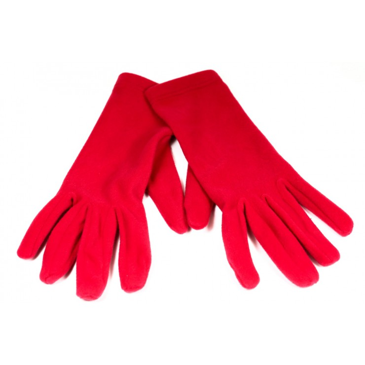 Women's gloves 1022 red Made in Italy