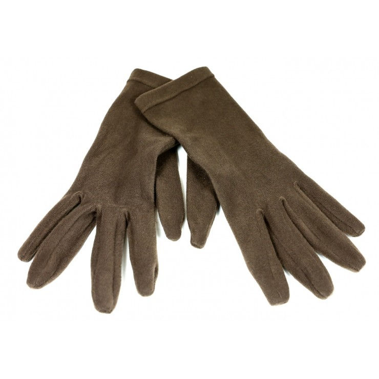 Women's gloves 1022 dark brown Made in Italy