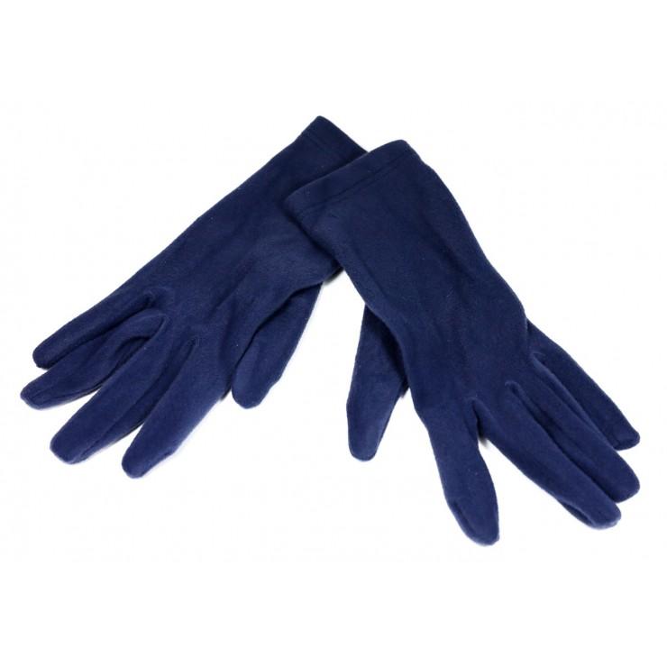 Dámske rukavice 1022 tmavomodré Made in Italy