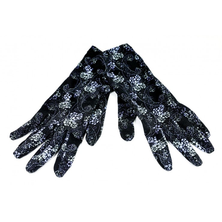 Women's gloves design cashmere GMF07 Made in Italy