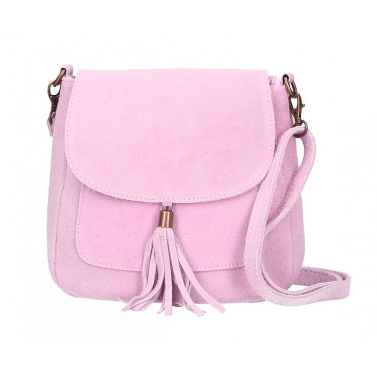 Genuine Leather Handbag 1147 pink