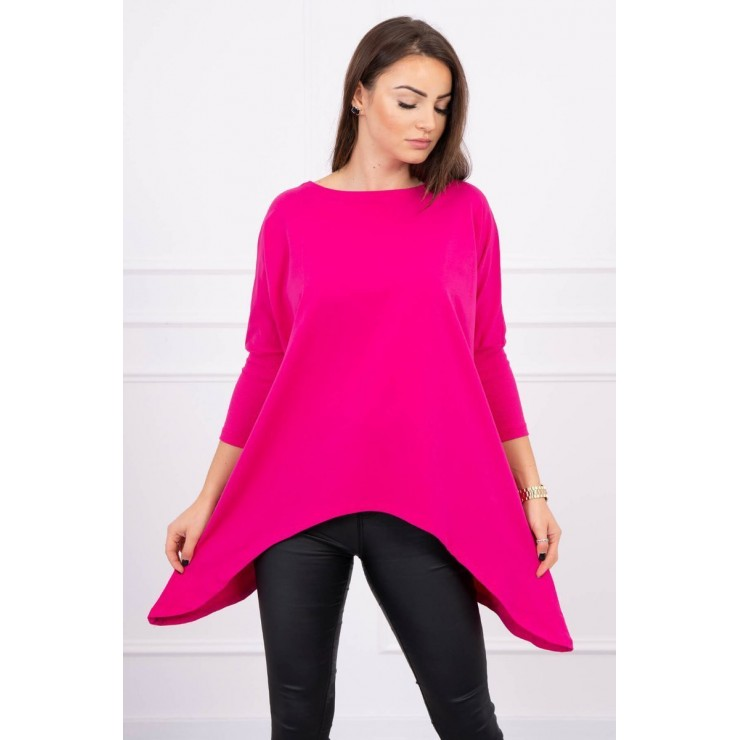 Women's extended tunic MI8875 fuxia