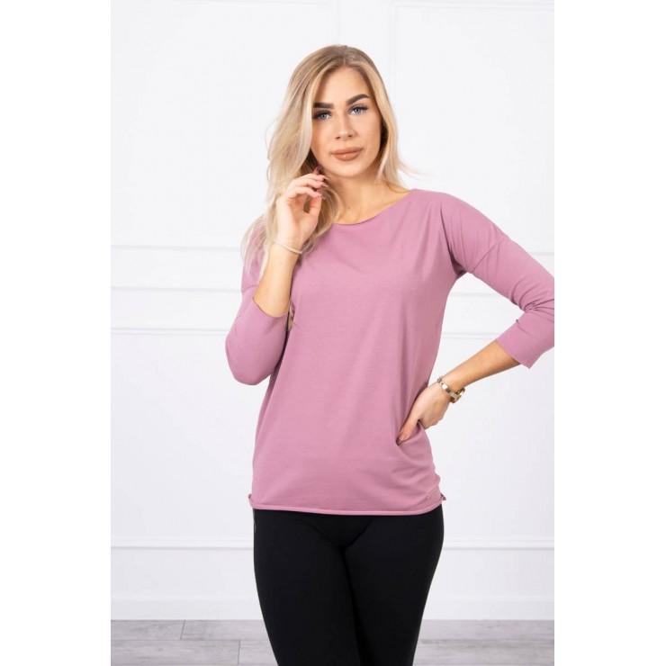 T-shirt CASUAL MI8834 dark pink