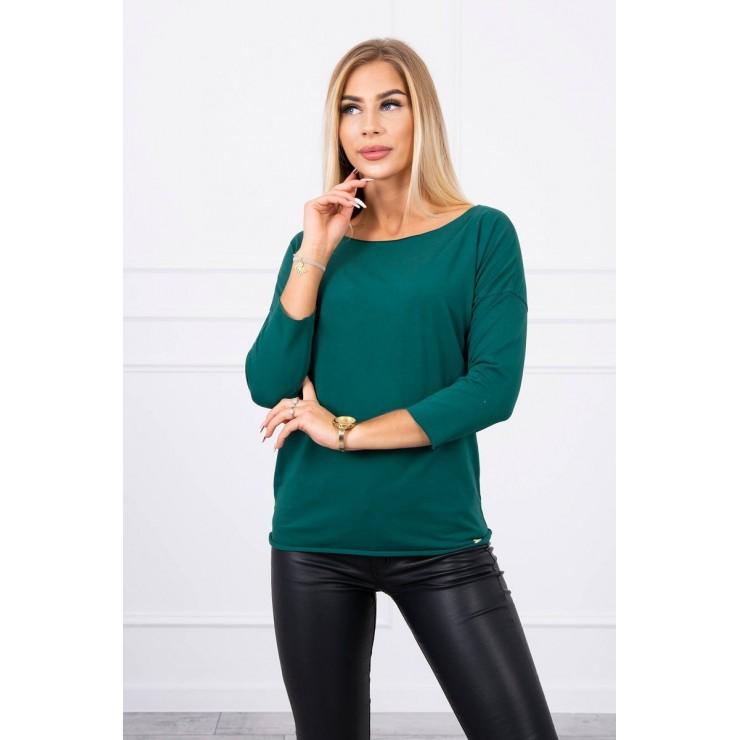 T-shirt CASUAL MI8834 green
