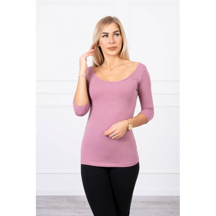 Women T-shirt MI8832 dark pink