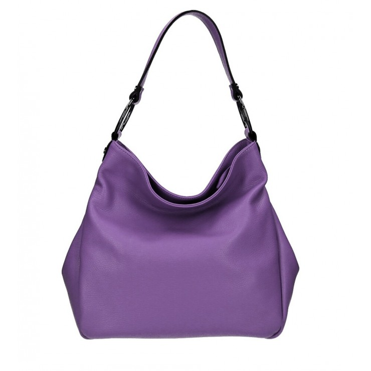 Genuine Shoulderbag 1081 purple Made in Italy