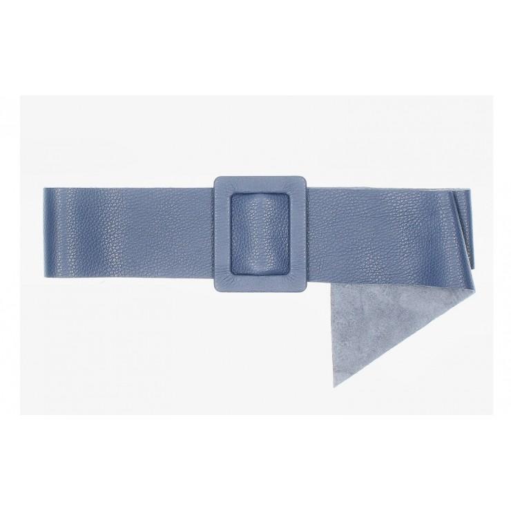 Dámsky kožený opasok 1217 jeans Made in Italy