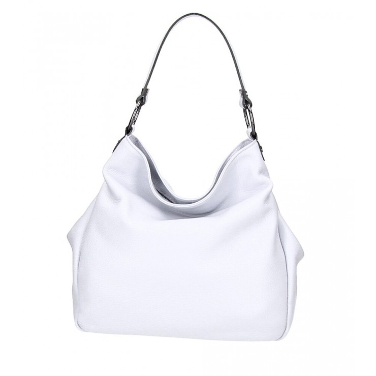 Genuine Shoulderbag 1081 white Made in Italy