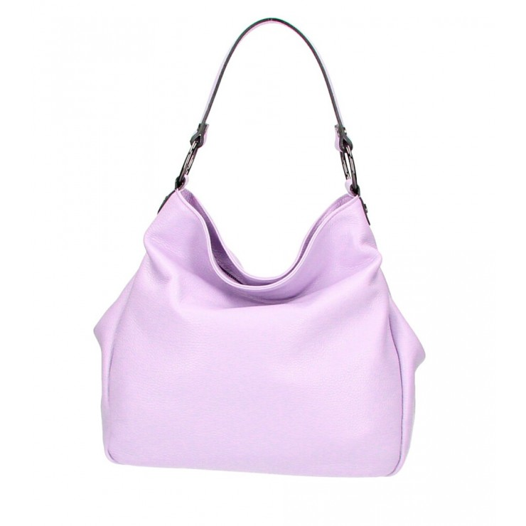 Genuine Shoulderbag 1081 light purple Made in Italy