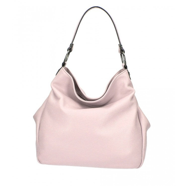 Genuine Shoulderbag 1081 powder pink Made in Italy