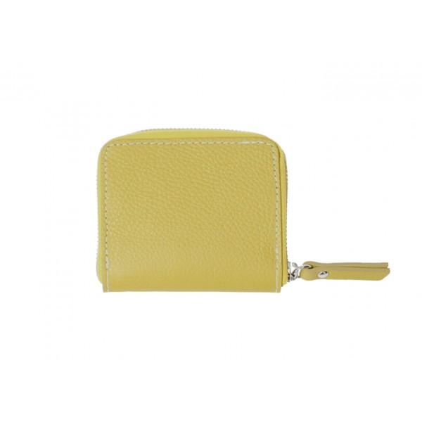 Dámska kožená peňaženka 571 machová Machová