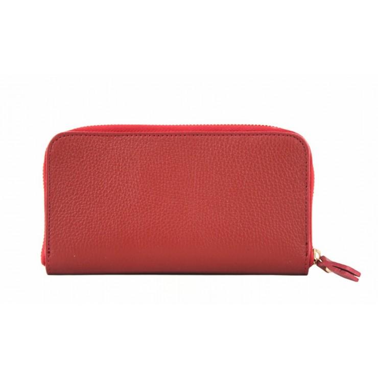 Kožená peňaženka 820B červená