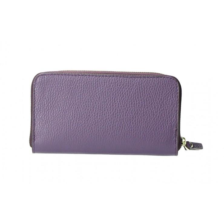 Woman genuine leather wallet 820B purple