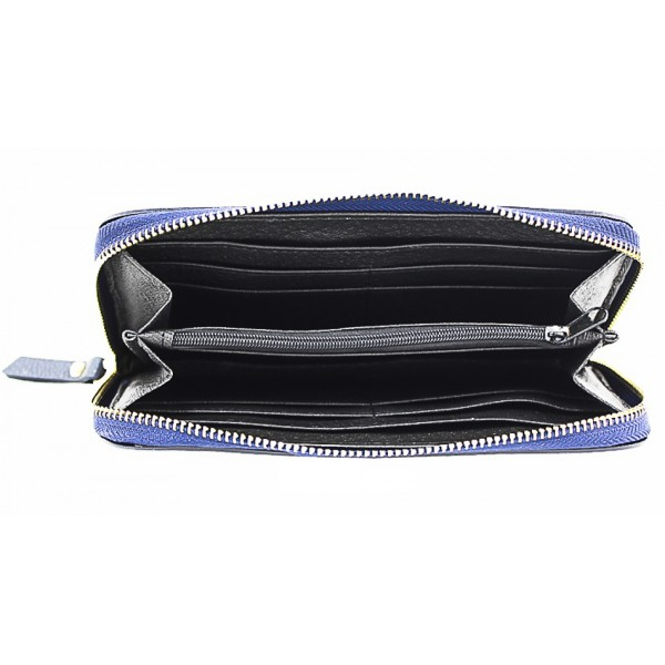 Kožená peňaženka 820B fialová Fialová