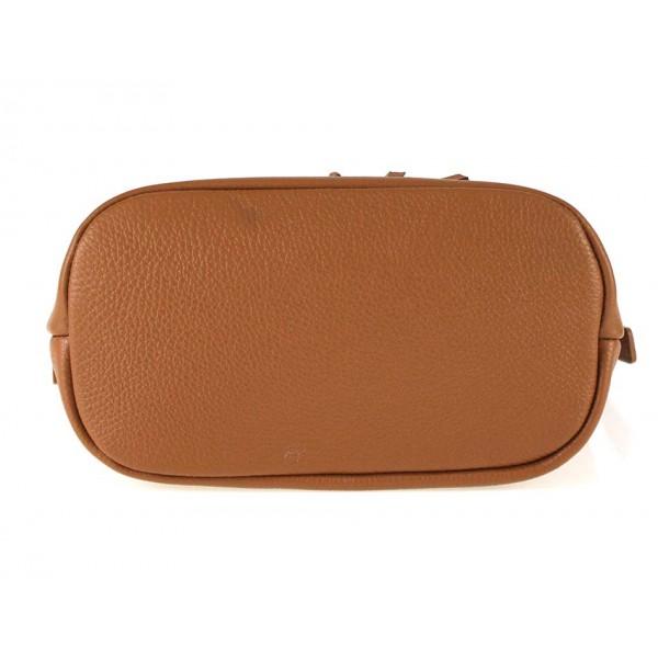 Mätová kožená kabelka na rameno 631 Mäta